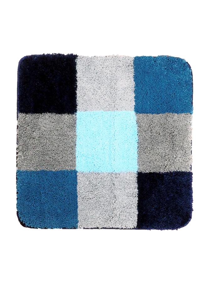 Boulogne badmat blauw