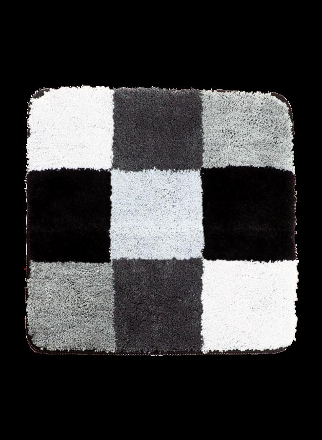 Boulogne badmat zwart