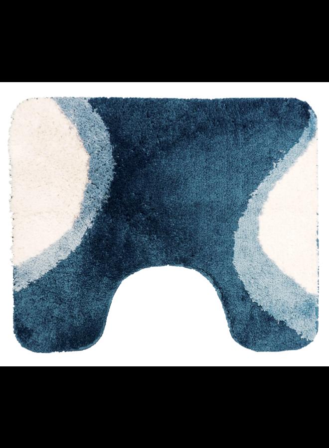 Allier toiletmat blauw