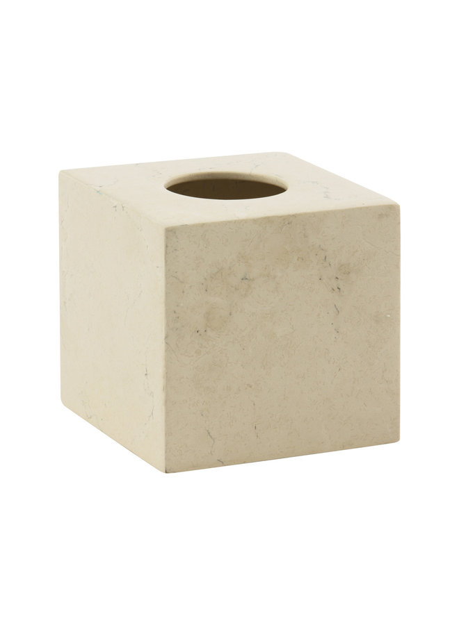 Luxor Tissue box Small  ivoor