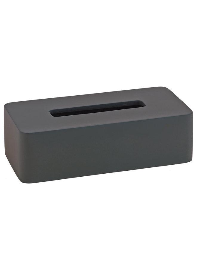 Ona Tissue box Donkergrijs