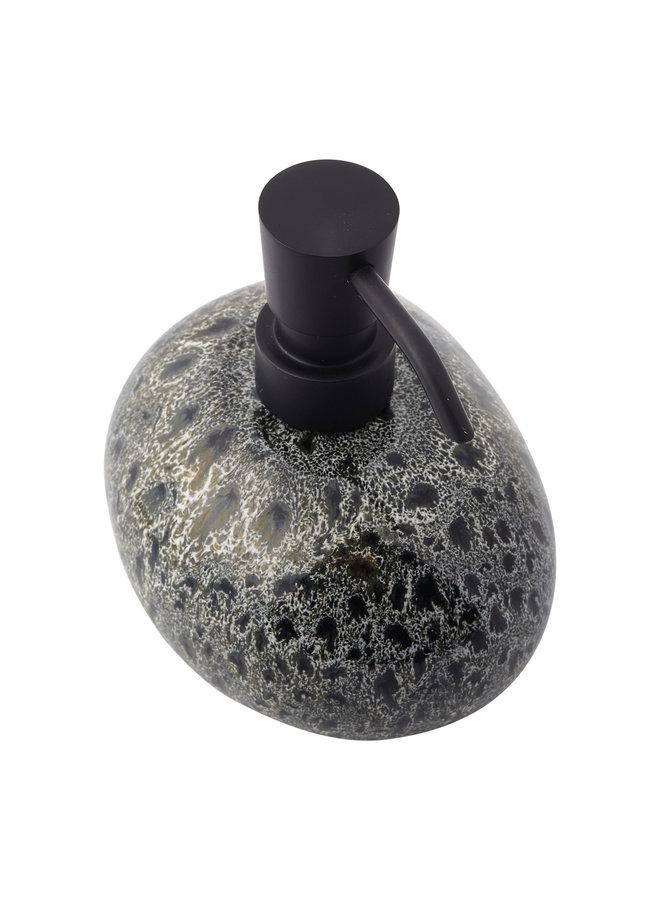 Ugo Zeepdispenser Zwart olijf