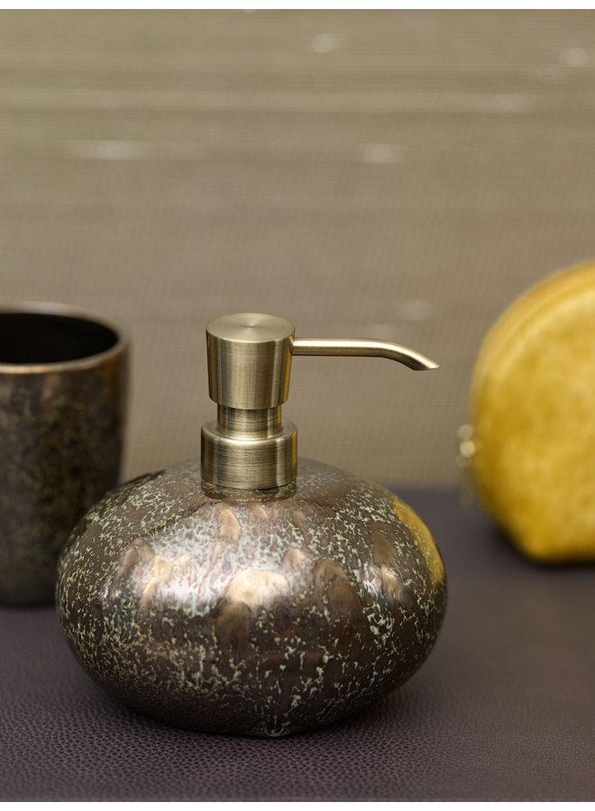 Ugo Zeepdispenser Vintage brons