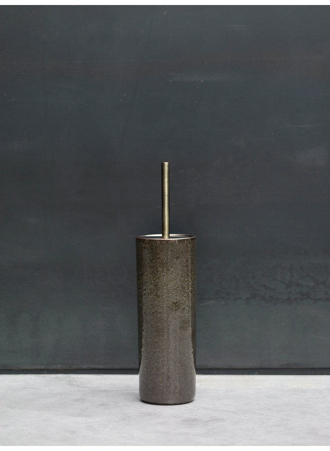 Ugo Toiletborstelhouder Vintage brons