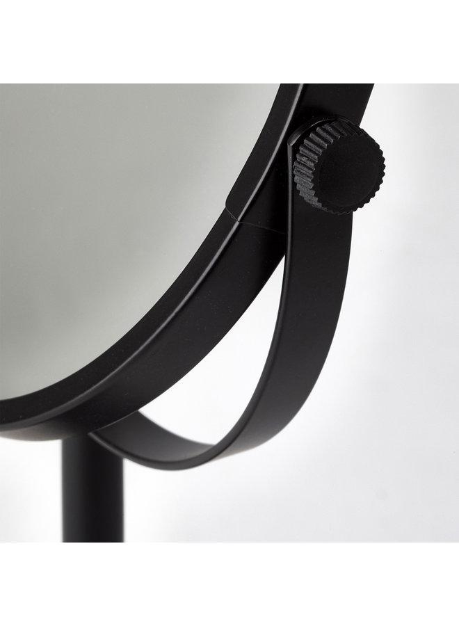 Beau Spiegel 3x vergrotend Zwart
