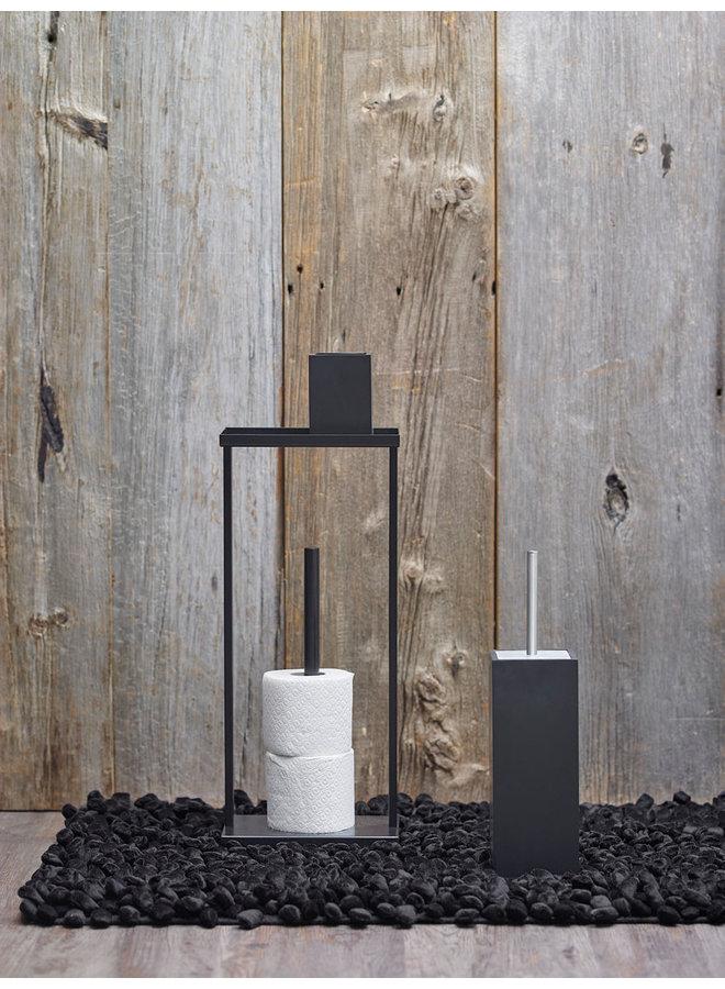Moon Reserve toiletpapier houder Zwart