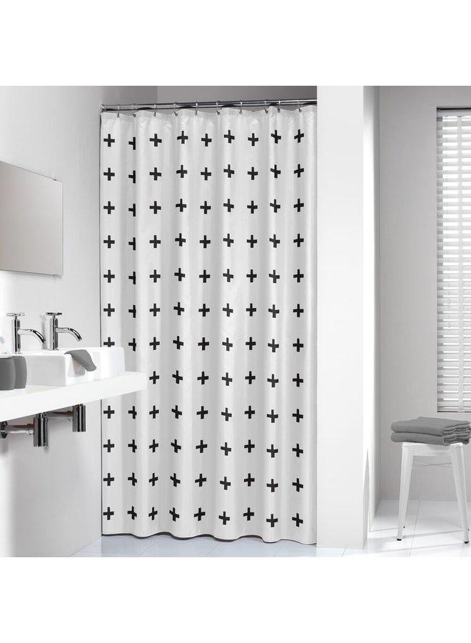 Sealskin Signes Douchegordijn Polyester 180x200 cm Zwart