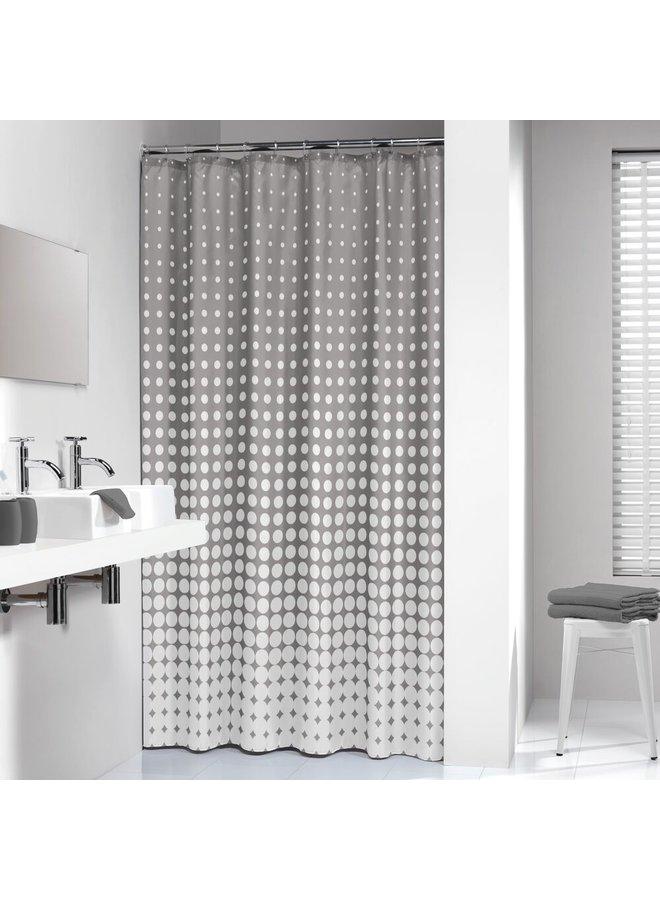 Sealskin Speckles Douchegordijn Polyester 180x200 cm Grijs
