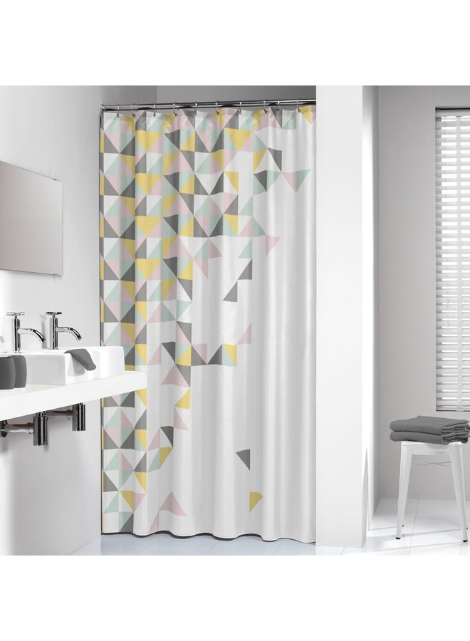 Sealskin Tangram Douchegordijn Polyester 180x200 cm Multi