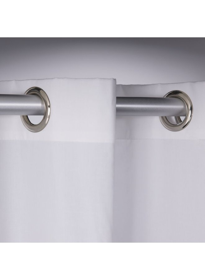 Sealskin Double Douchegordijn Polyester/Katoen 180x200 cm Grijs