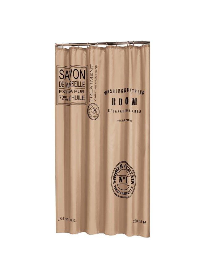 Sealskin Savon de Provence Douchegordijn Polyester 180x200 cm Linnen