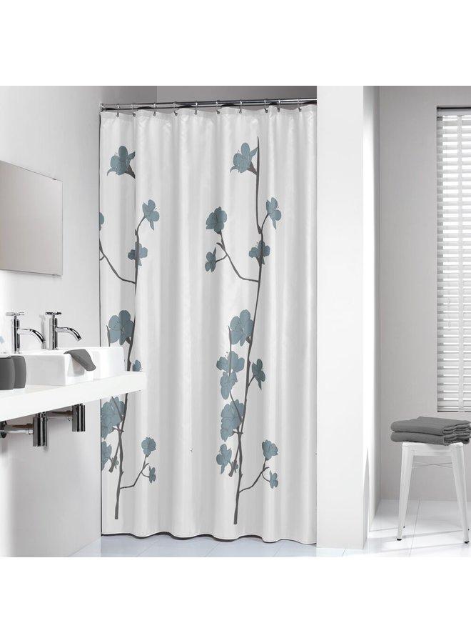 Sealskin Orchid Douchegordijn Polyester 180x200 cm Blauw