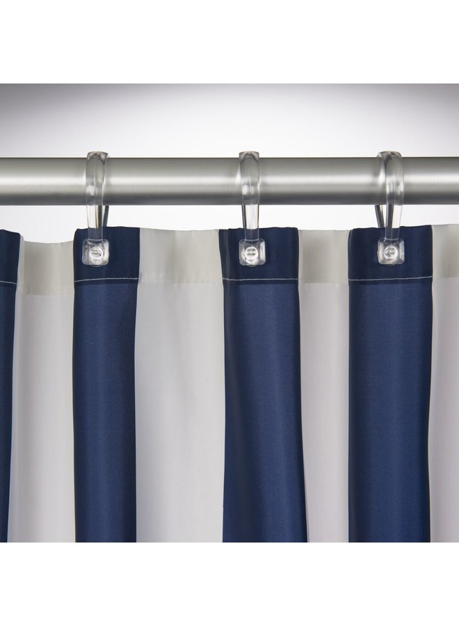 Sealskin Linje Douchegordijn Polyester 180x200 cm Blauw