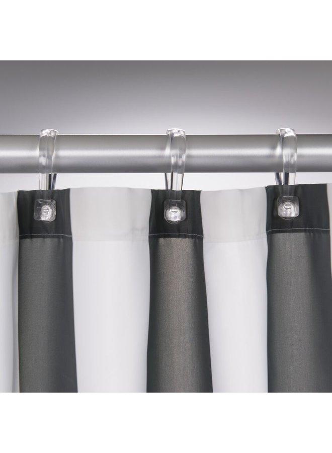 Sealskin Linje Douchegordijn Polyester 180x200 cm Grijs