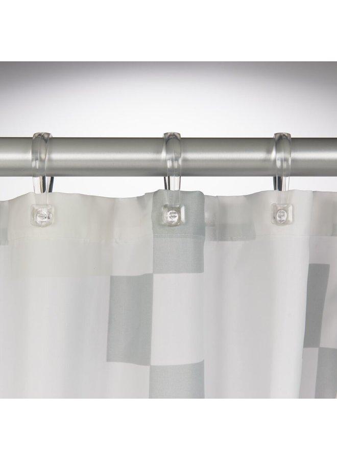 Sealskin Pixel Douchegordijn Polyester 180x200 cm Zwart