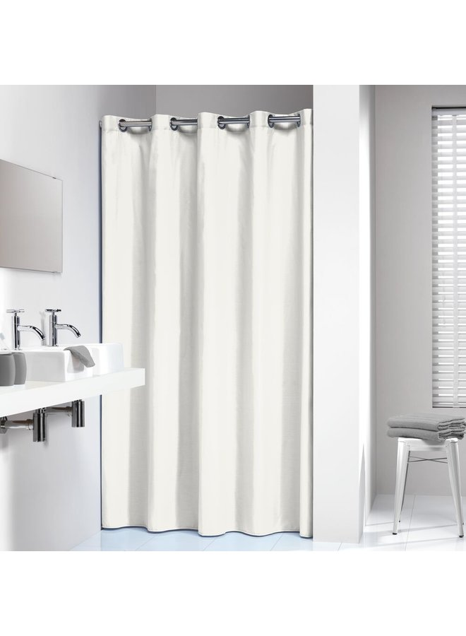 Sealskin Coloris Douchegordijn Polyester/Katoen 180x200 cm Wit