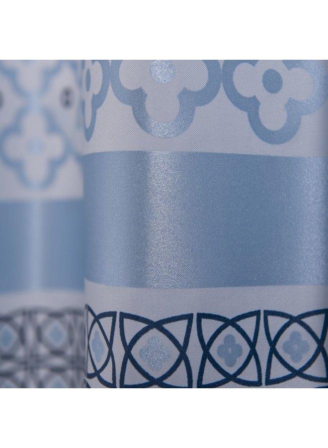 Sealskin Marrakech Douchegordijn Polyester 180x200 cm Blauw/Metallic