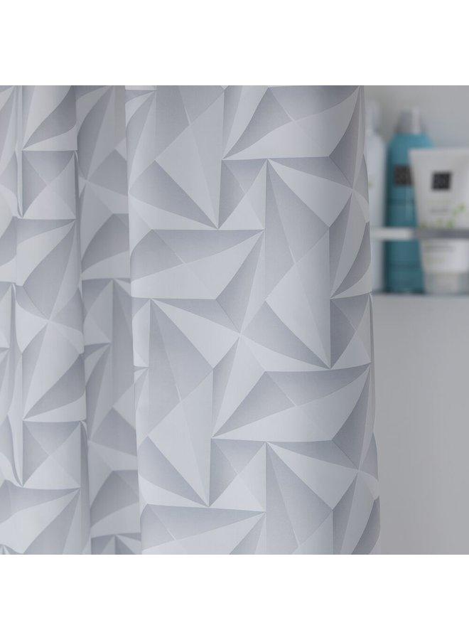 Sealskin Piega Douchegordijn Polyester 180x200 cm Grijs