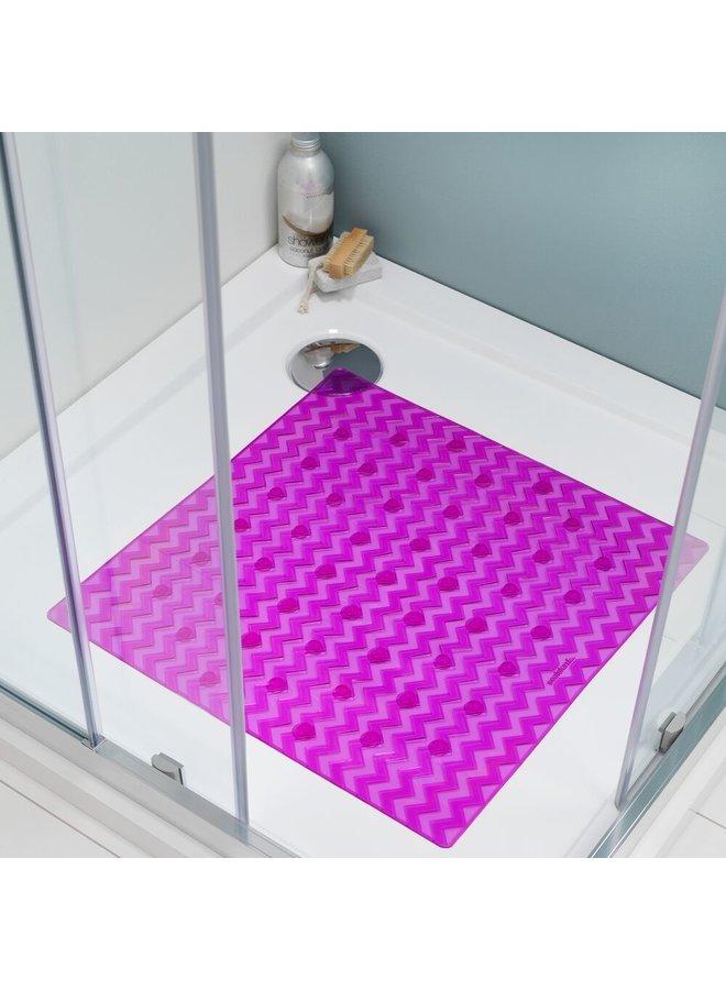 Sealskin antislip Leisure Veiligheidsmat 53x53 cm PVC Roze