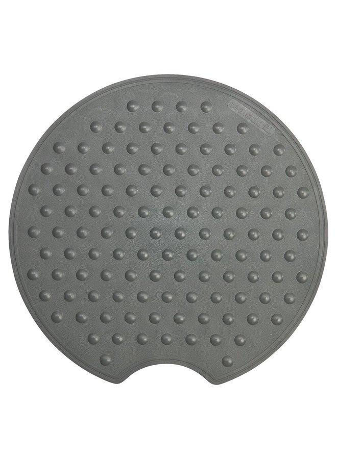 Rotondo Veiligheidsmat Ø 50 cm Rubber Antraciet
