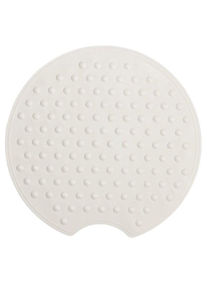 Rotondo Veiligheidsmat Ø 50 cm Rubber Wit