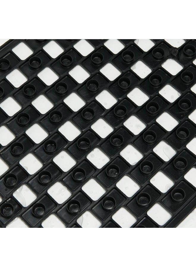 Sealskin antislip Doby Veiligheidsmat 38x75 cm Rubber Zwart