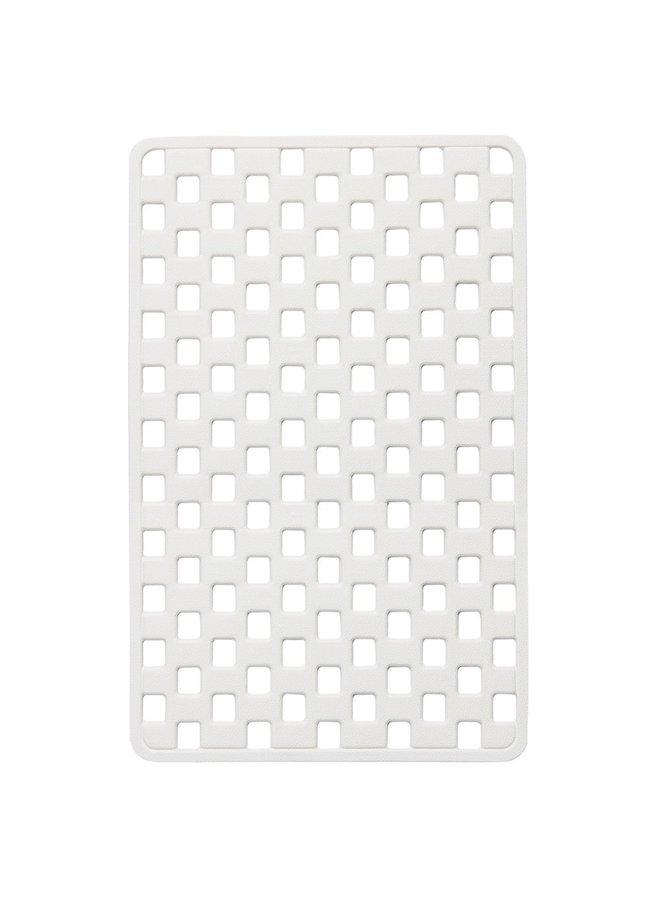 Doby Veiligheidsmat 38x75 cm Rubber Wit
