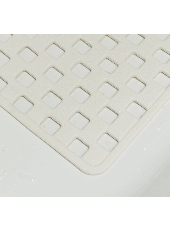 Sealskin antislip Doby Veiligheidsmat 38x75 cm Rubber Wit