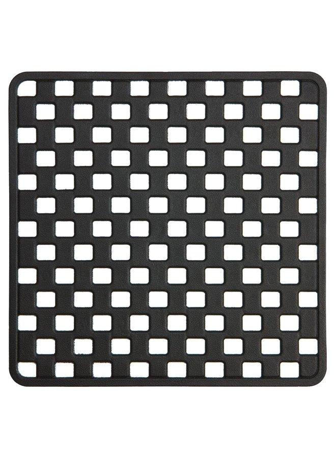 Doby Veiligheidsmat 50x50 cm Rubber Zwart