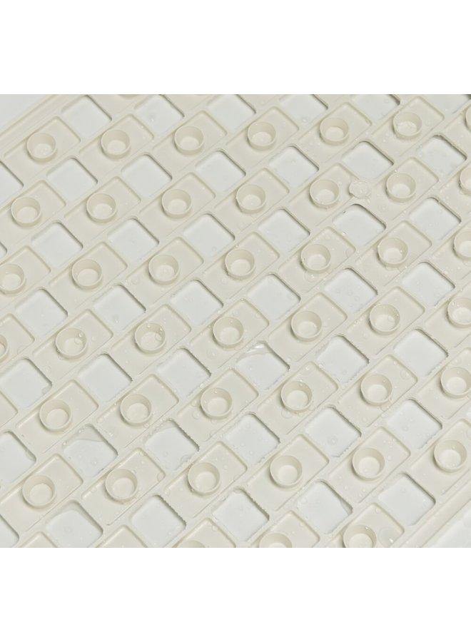 Sealskin antislip Doby Veiligheidsmat 50x50 cm Rubber Wit