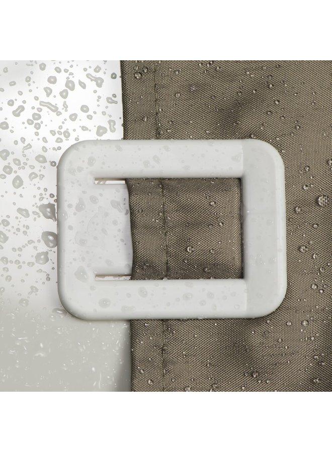 Fix zelfklevende Douchegordijnklem wit