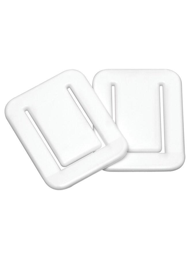 Sealskin Fix zelfklevende Douchegordijnklem wit