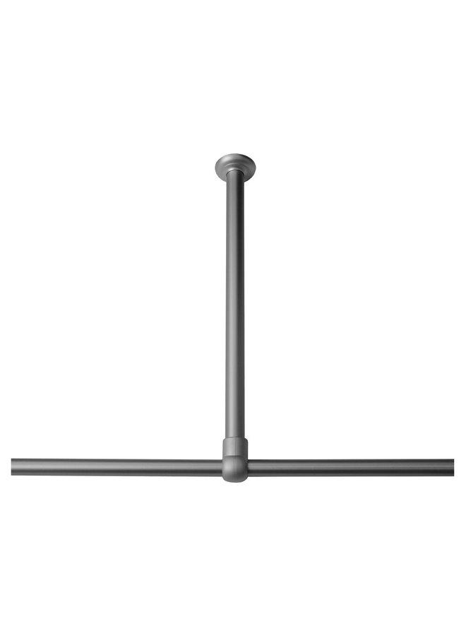 Sealskin Seallux Plafondsteun 60 cm RVS Mat aluminium