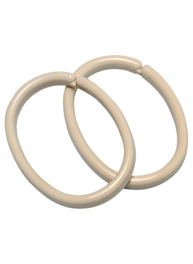 Clips ring 12 stuks jasmijn