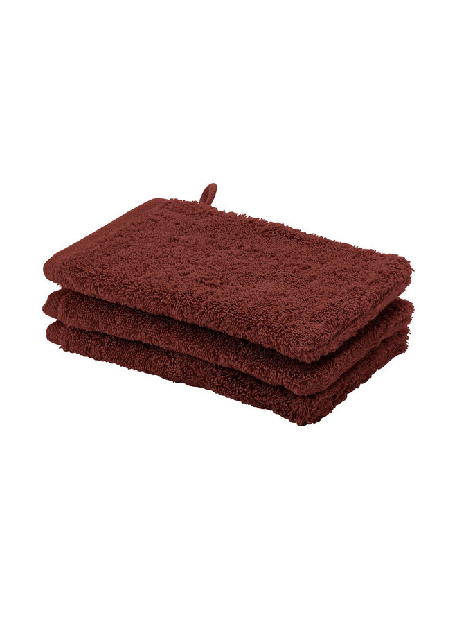 London handdoek mahonie
