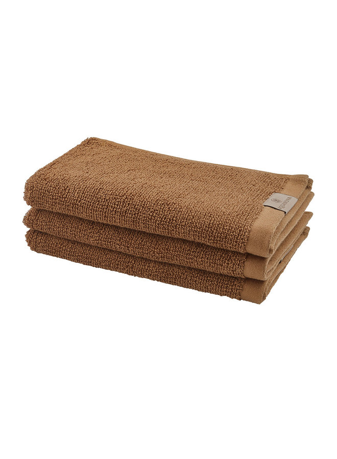 Oslo handdoek kaneel
