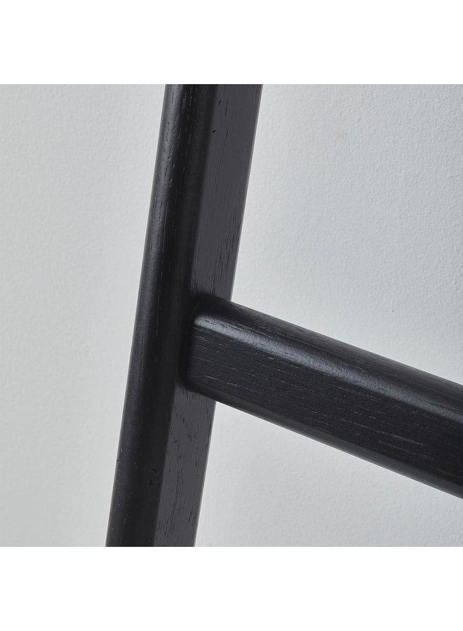 Mink Handdoek ladder Zwart