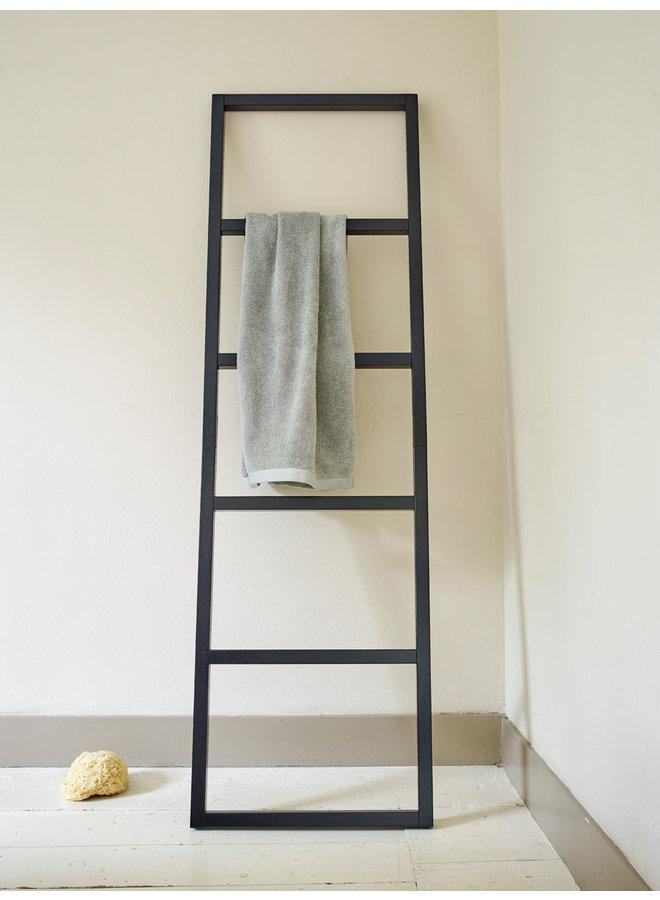 Dita Handdoek ladder Bamboe Zwart