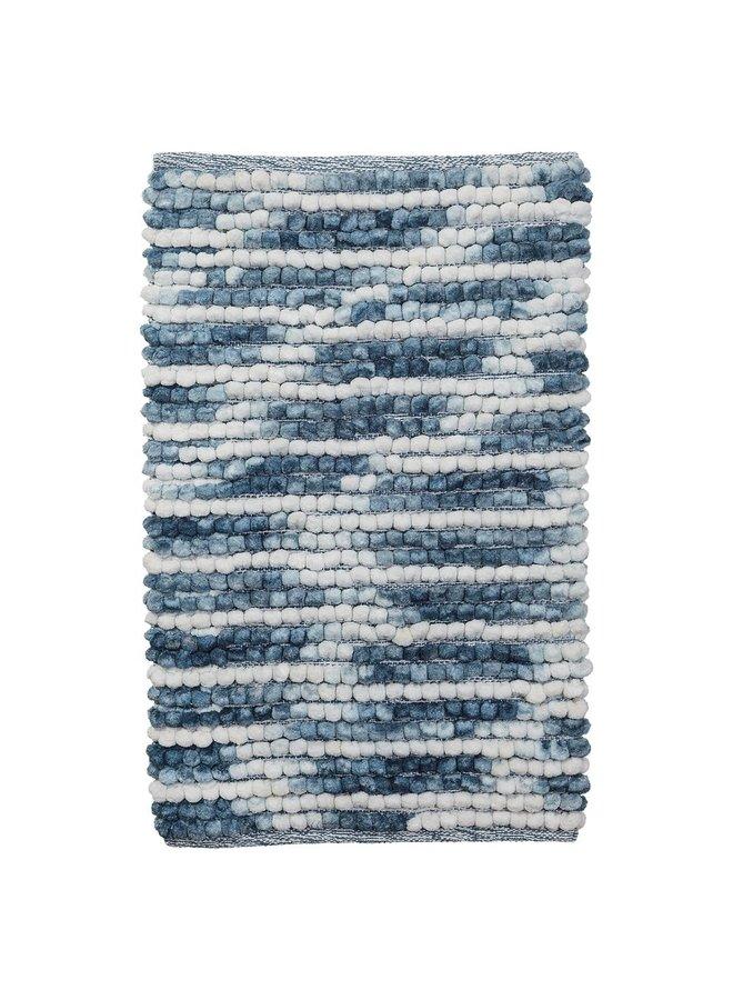 Vintage Badmat Blauw