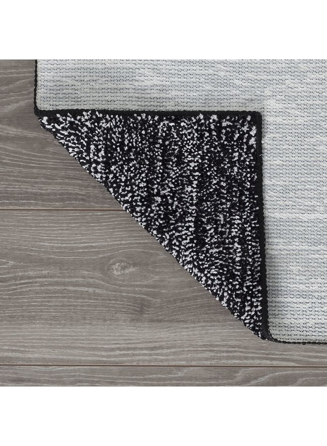 Speckles Badmat Zwart