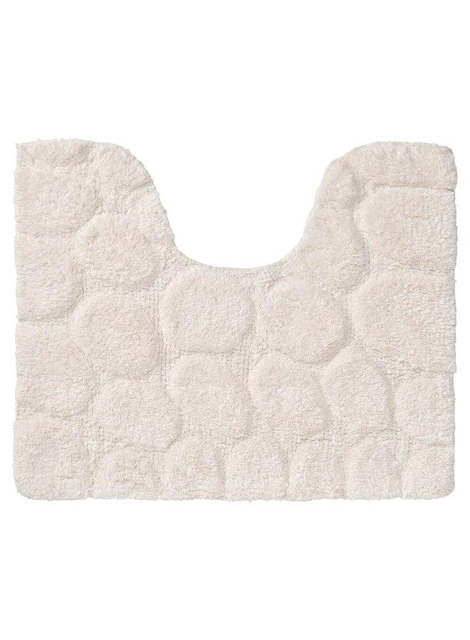Pebbles Badmat ivoor