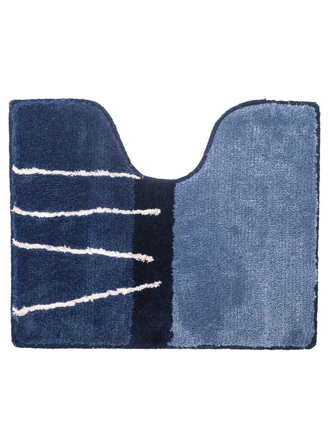 Matches Badmat midden blauw