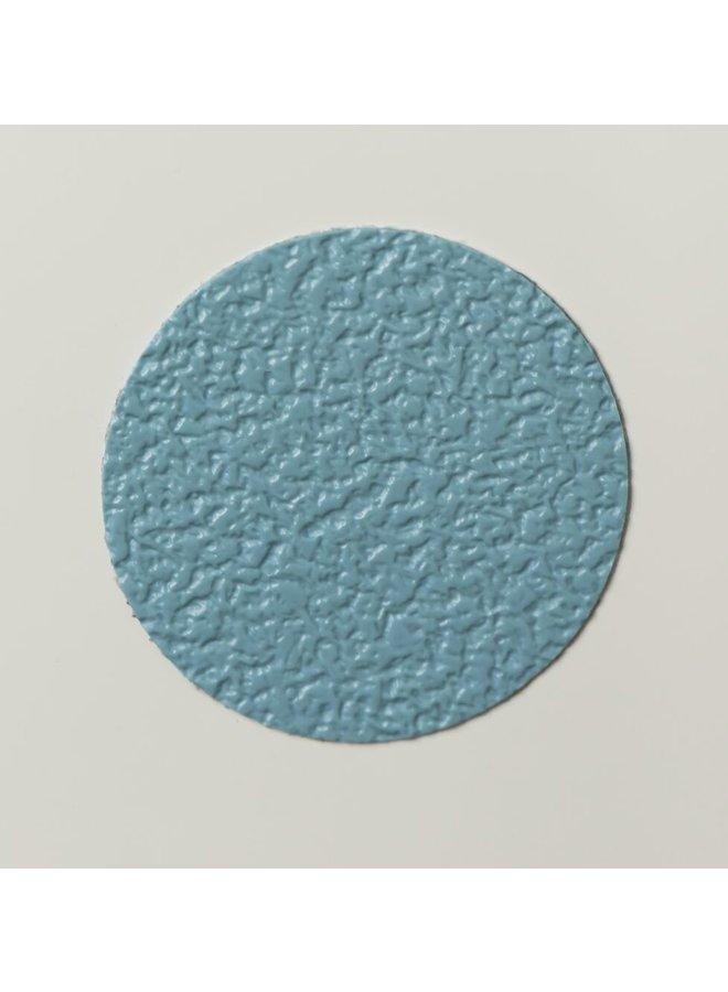 Waterrings zelfklevende antislip stickers PVC 6 stuks blauw