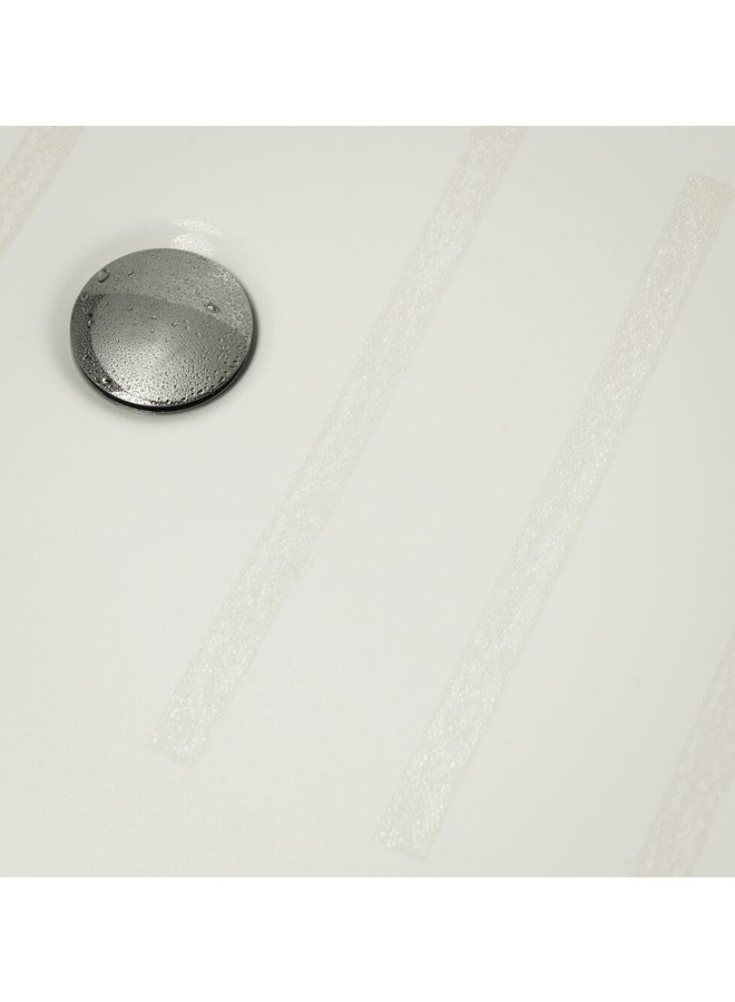 Strip zelfklevende antislip stickers vinyl 2x30 cm, 5 stuks transparant