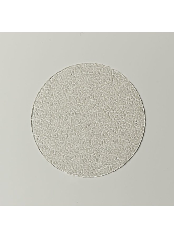 Badbloem zelfklevende antislip stickers vinyl 7 stuks wit
