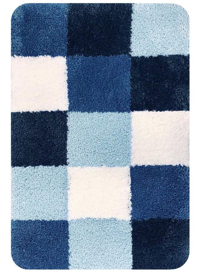Brest badmat blauw