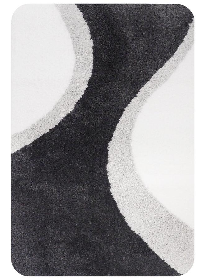 Metz badmat grijs