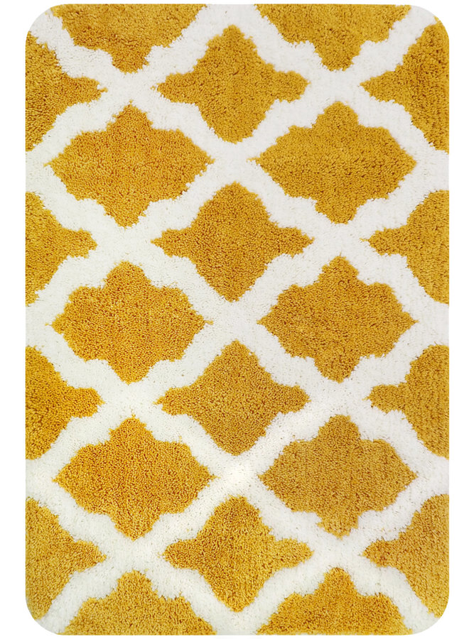 Toulon badmat geel