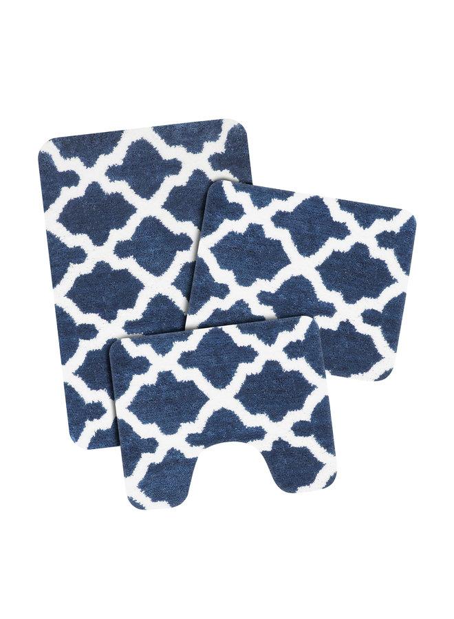 Toulon badmat donker blauw