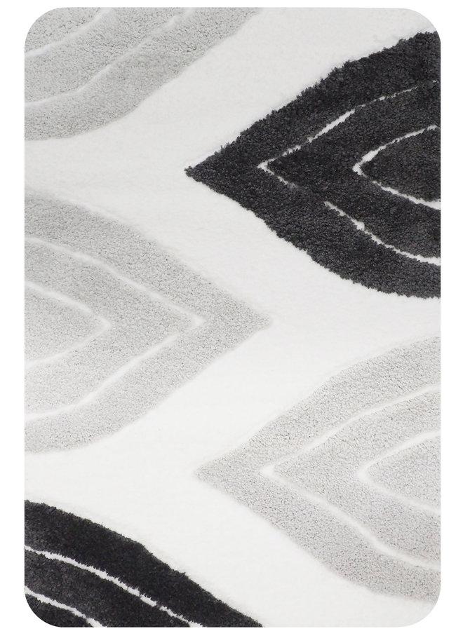 Paris badmat grijs